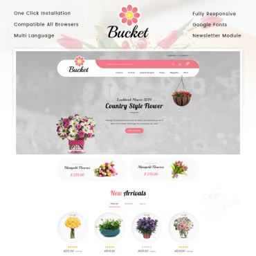 Website Template № 86642
