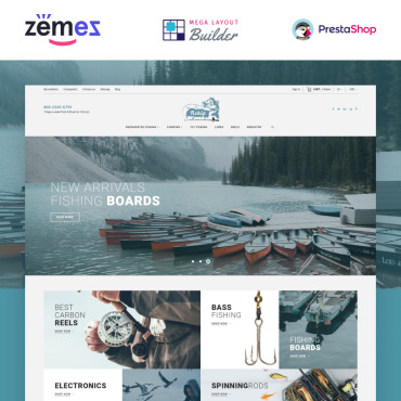Website Template № 86744