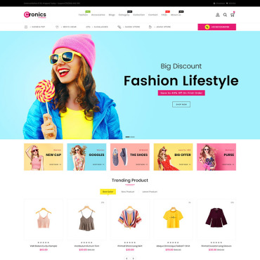 Website Template № 86809