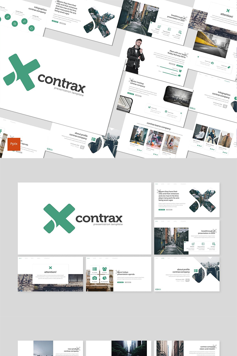Contrax PowerPoint Template