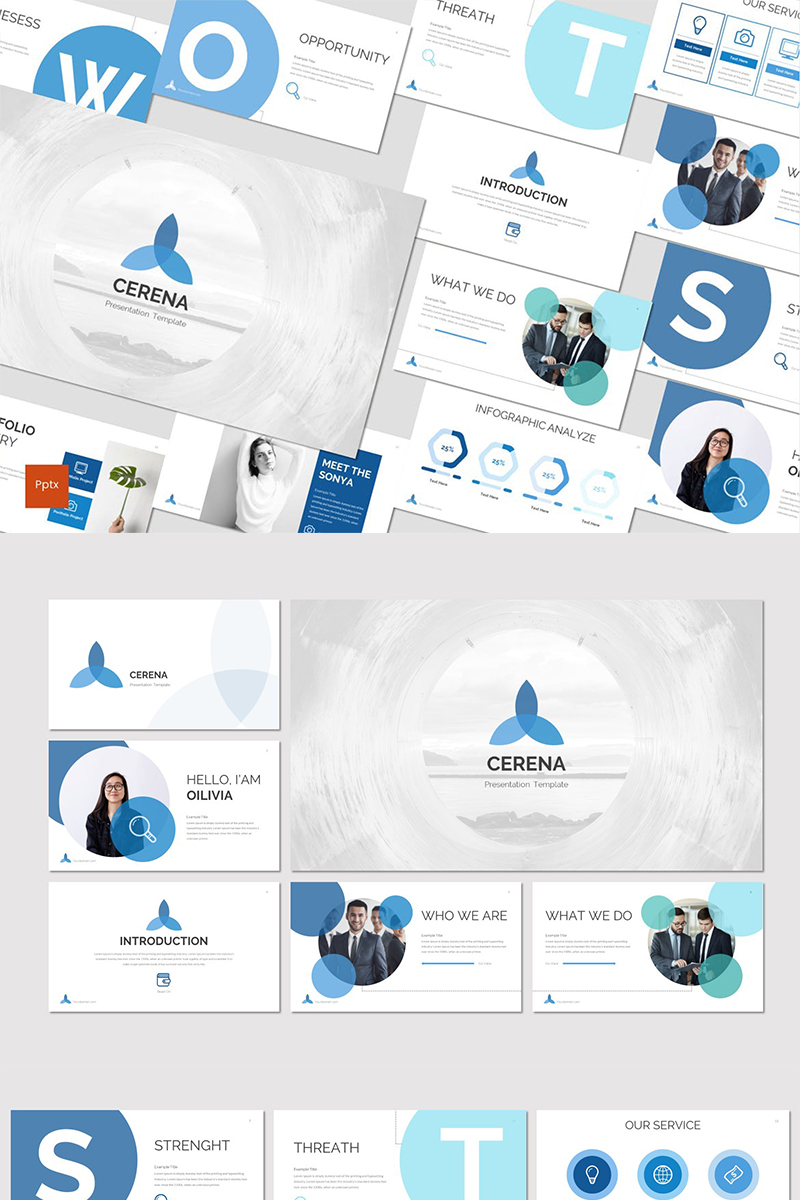 Cerena PowerPoint Template