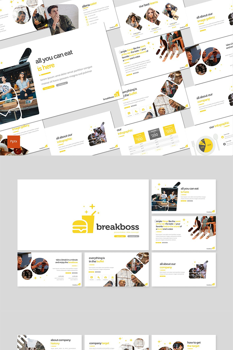 Breakboss PowerPoint Template