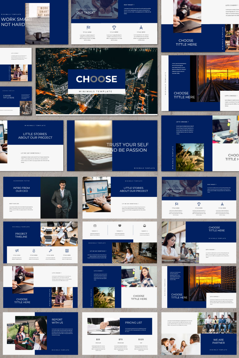 Chaos Business Creative PowerPoint Template