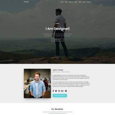 Template Software Landing Page #86946