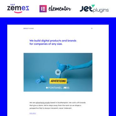 Template Afaceri WordPress #86978