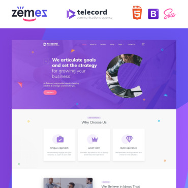 Website Template № 87001