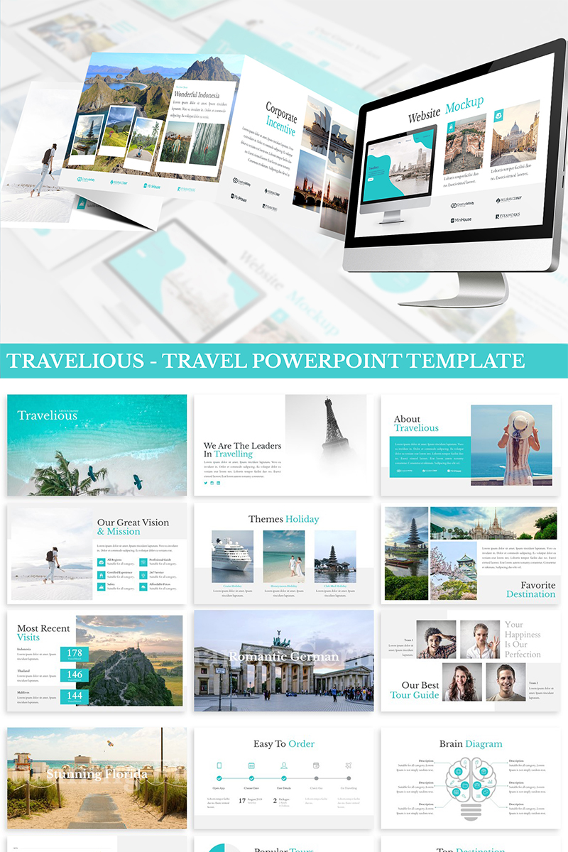 Travelious - Travel PowerPoint Template