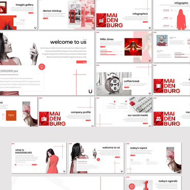 Website Template № 87013