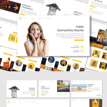 Website Template № 87021
