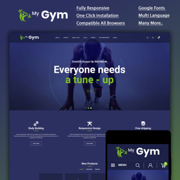 Website Template № 87051
