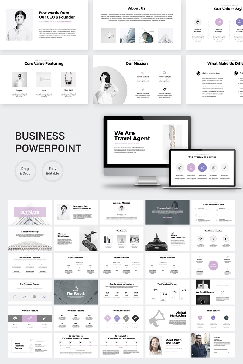 Ultimate - Marketing Plan PowerPoint Template
