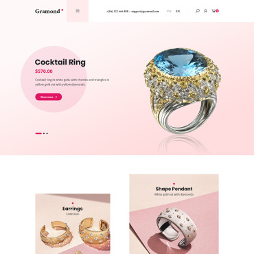 Template Electronice WooCommerce #87134
