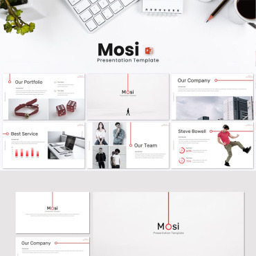 Website Template № 87163