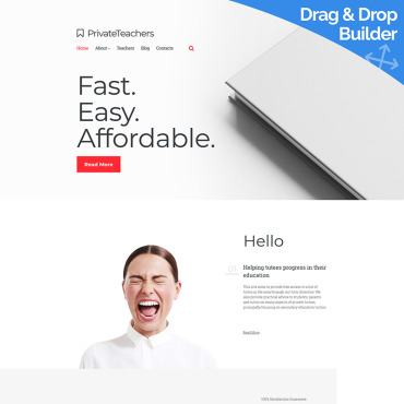 Website Template № 87172