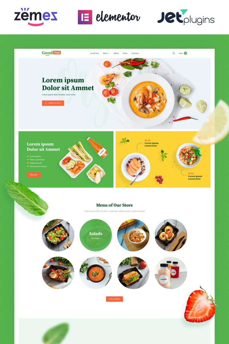 GoodFood - Stylish Organic Food Template WooCommerce Theme