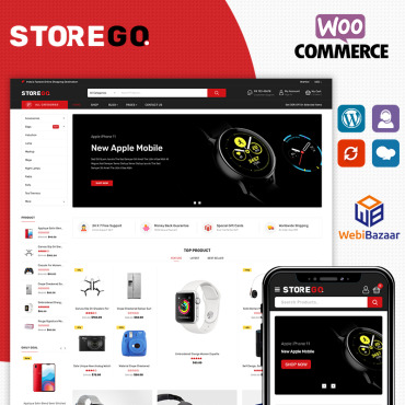 Template Electronice WooCommerce #87256