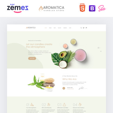 Website Template № 87314