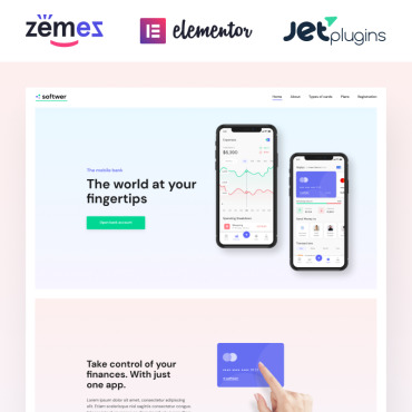 Website Template № 87317