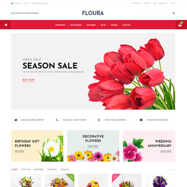 Website Template № 87332