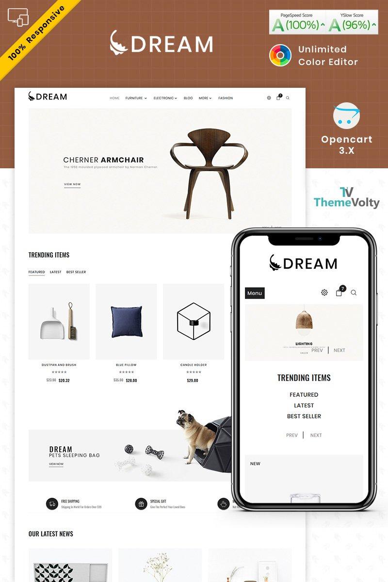 Dream Furniture OpenCart Template