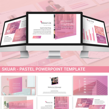 Website Template № 87400