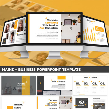 Website Template № 87401