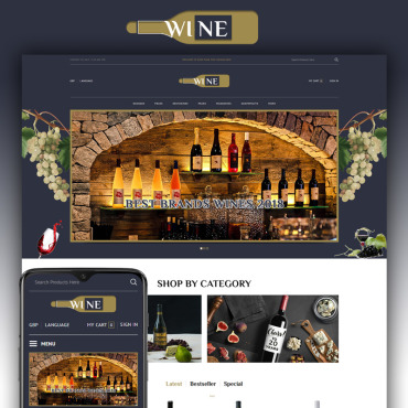 Website Template № 87445