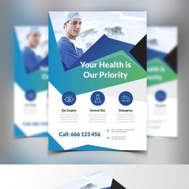 Template Medicină Identitate corporativă #87477