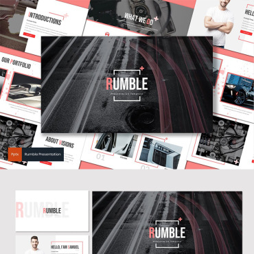 Website Template № 87596