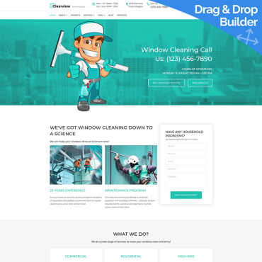 Website Template № 87627