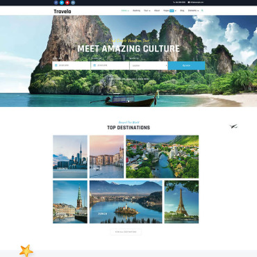 Website Template № 87660