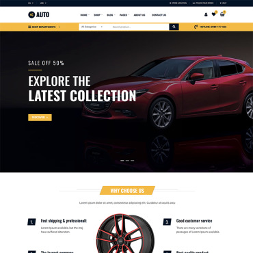Website Template № 87742