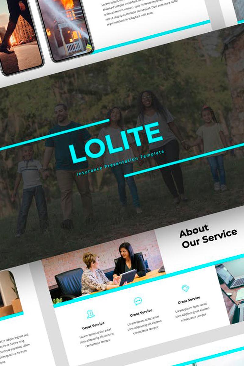 Lolite - Insurance Presentation PowerPoint Template