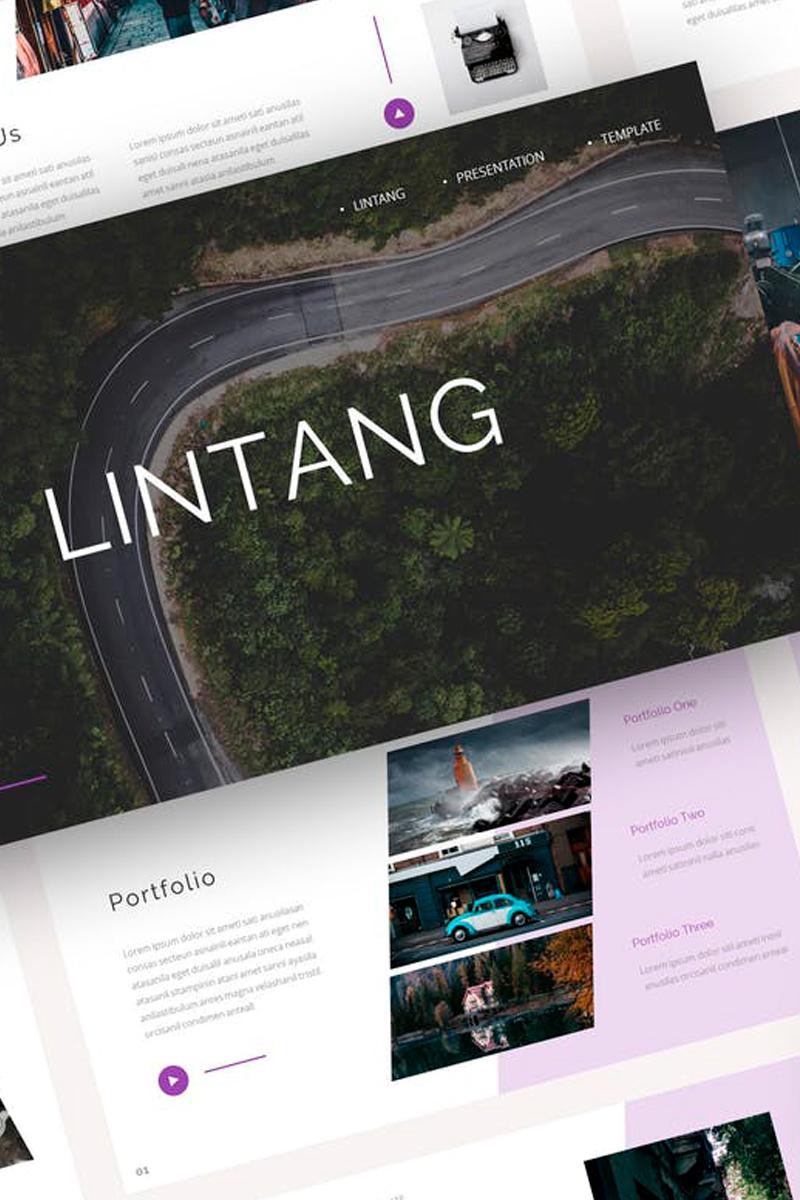Lintang - Creative Presentation PowerPoint Template