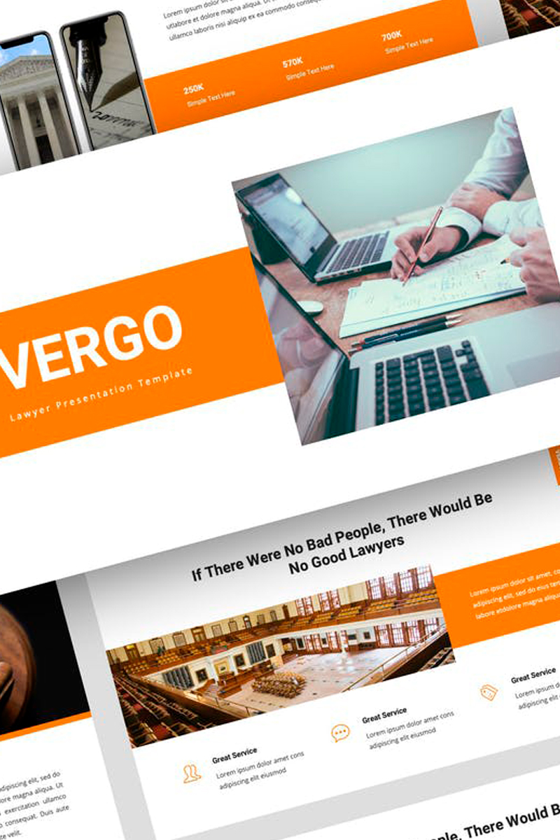 Vergo - Lawyer Presentation PowerPoint Template