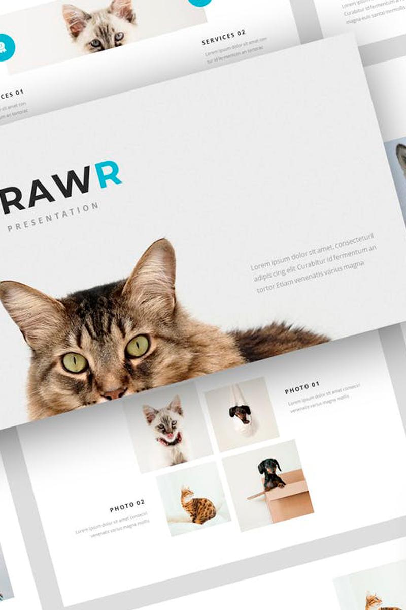 Rawr - Pet Service Presentation PowerPoint Template