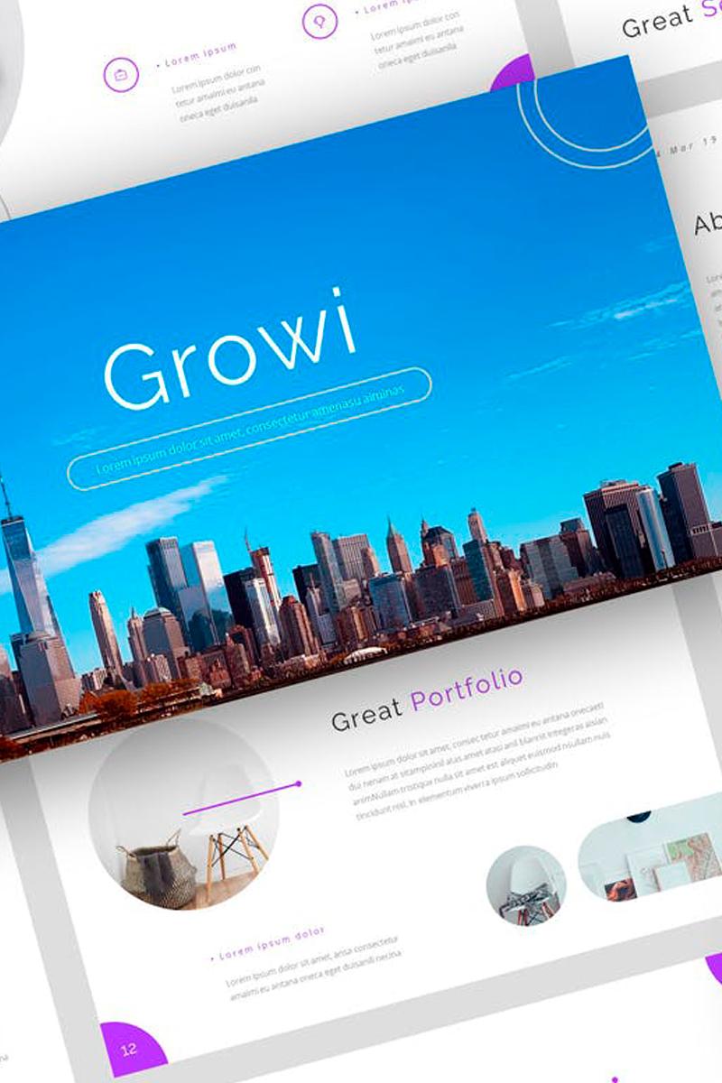 Growi - Business Presentation PowerPoint Template
