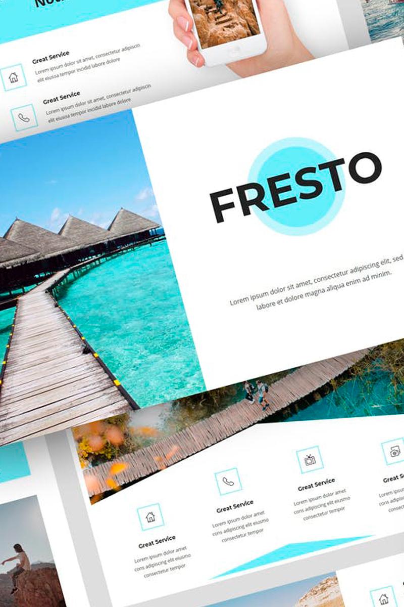 Fresto - Travel Presentation PowerPoint Template