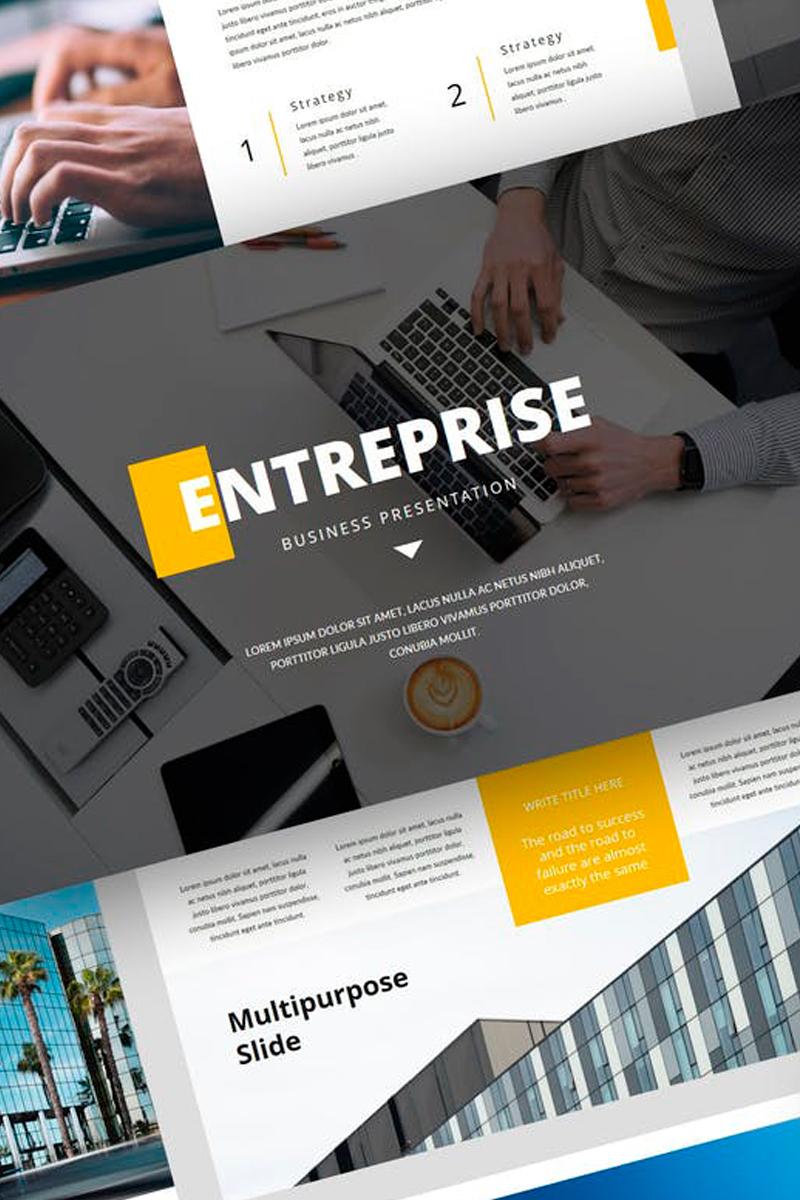 Entreprise - Business Presentation PowerPoint Template