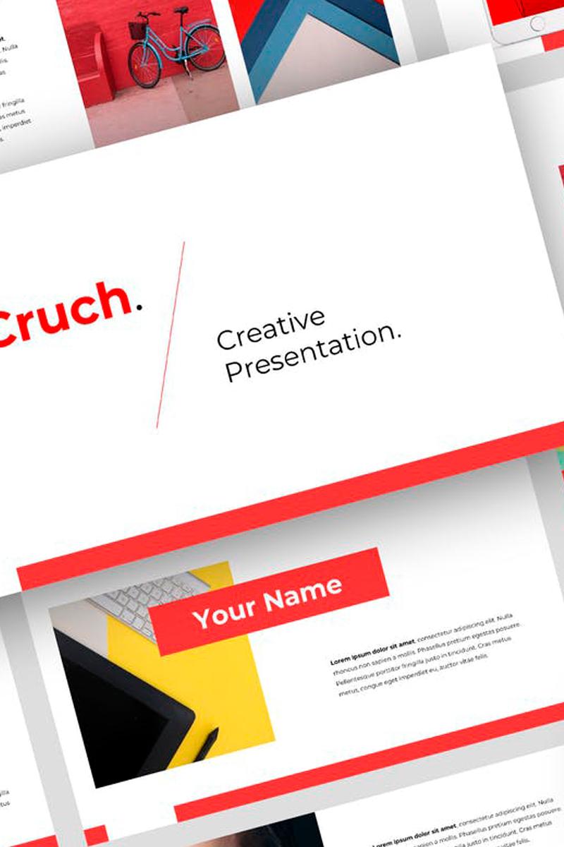 Cruch - Creative Presentation PowerPoint Template