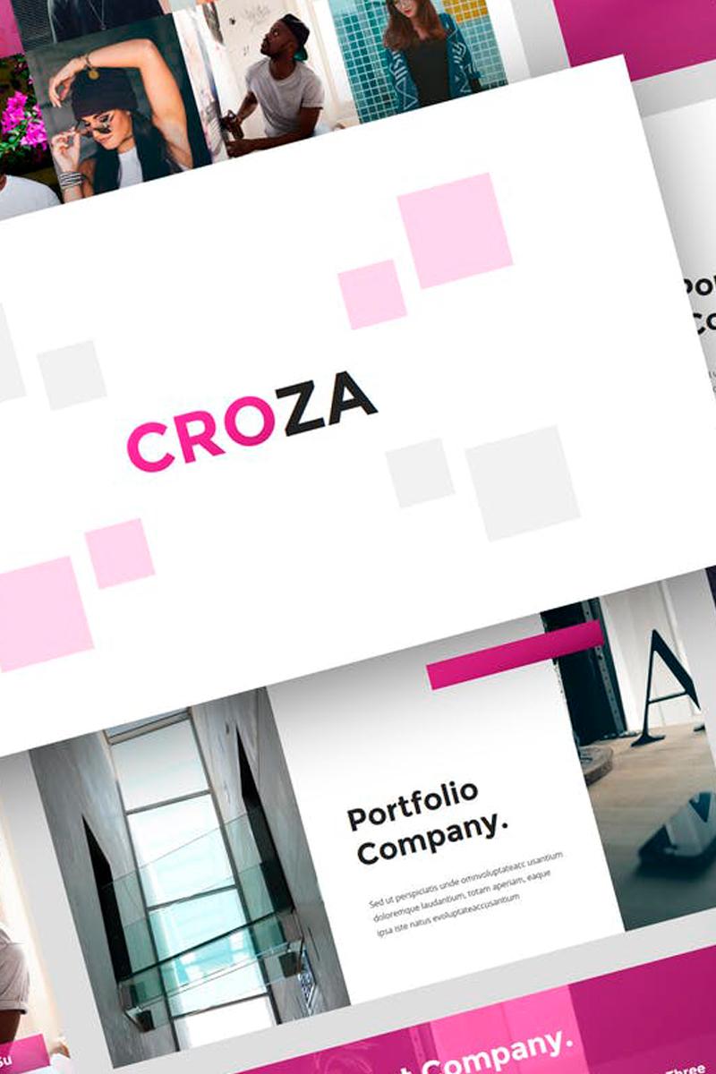 Croza - Creative Presentation PowerPoint Template