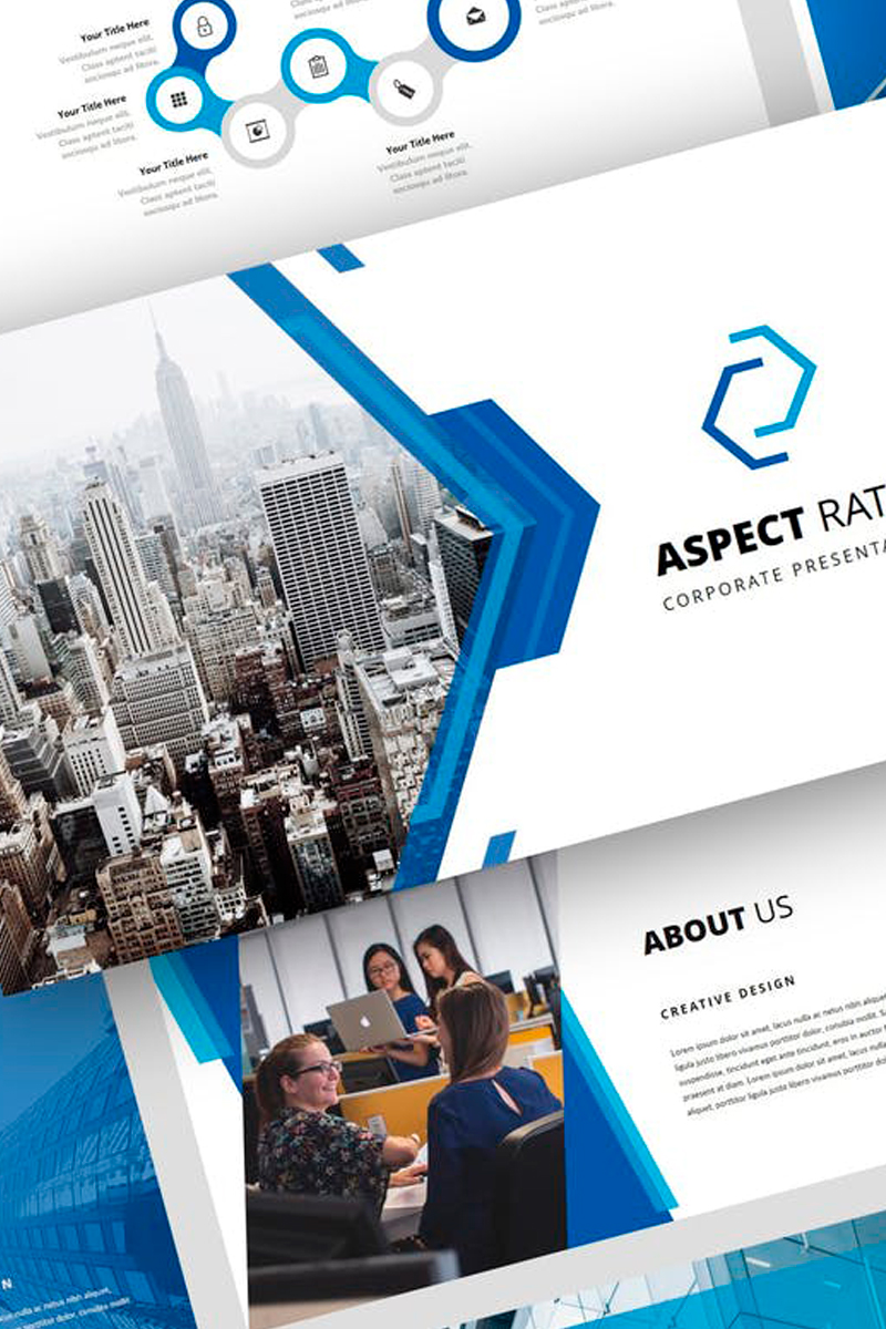 Aspect - Corporate Presentation PowerPoint Template