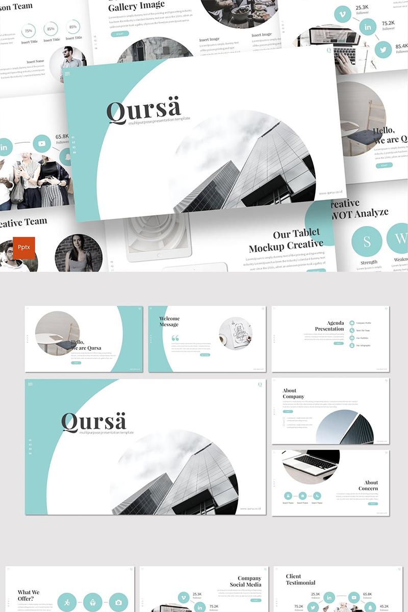 Qursa PowerPoint Template