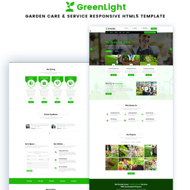 Website Template № 88200