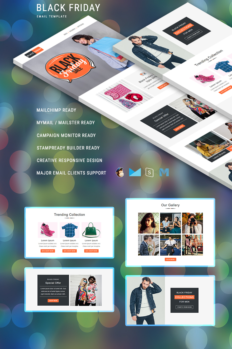 Black Friday – Multipurpose Responsive Newsletter Template