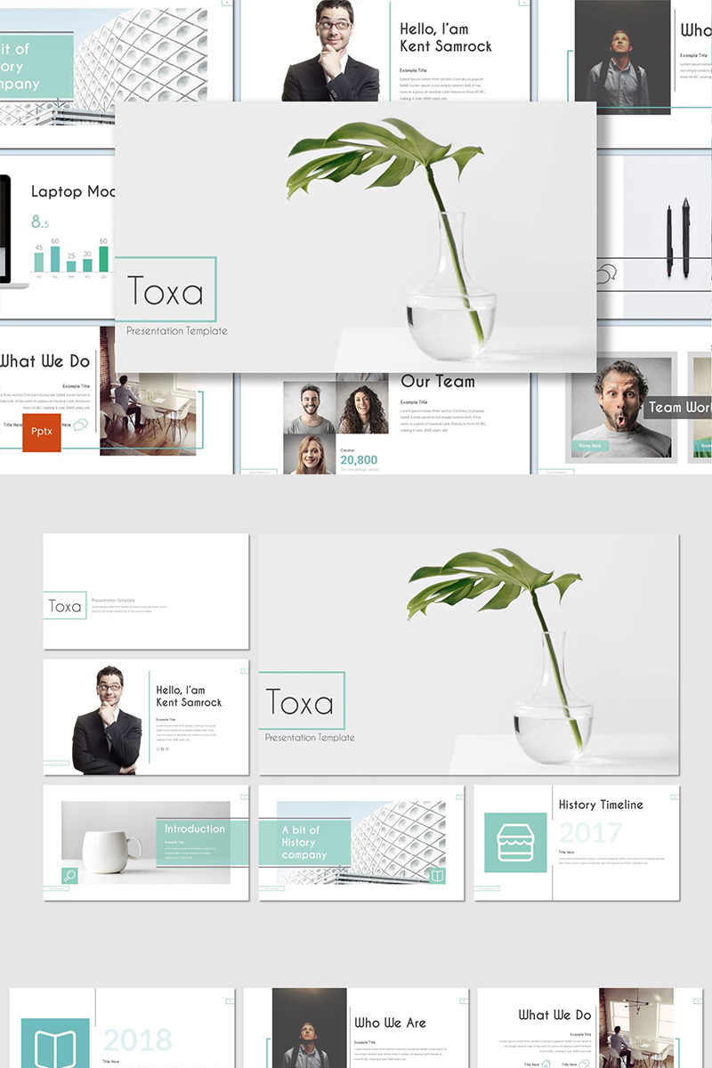 Toxa PowerPoint Template
