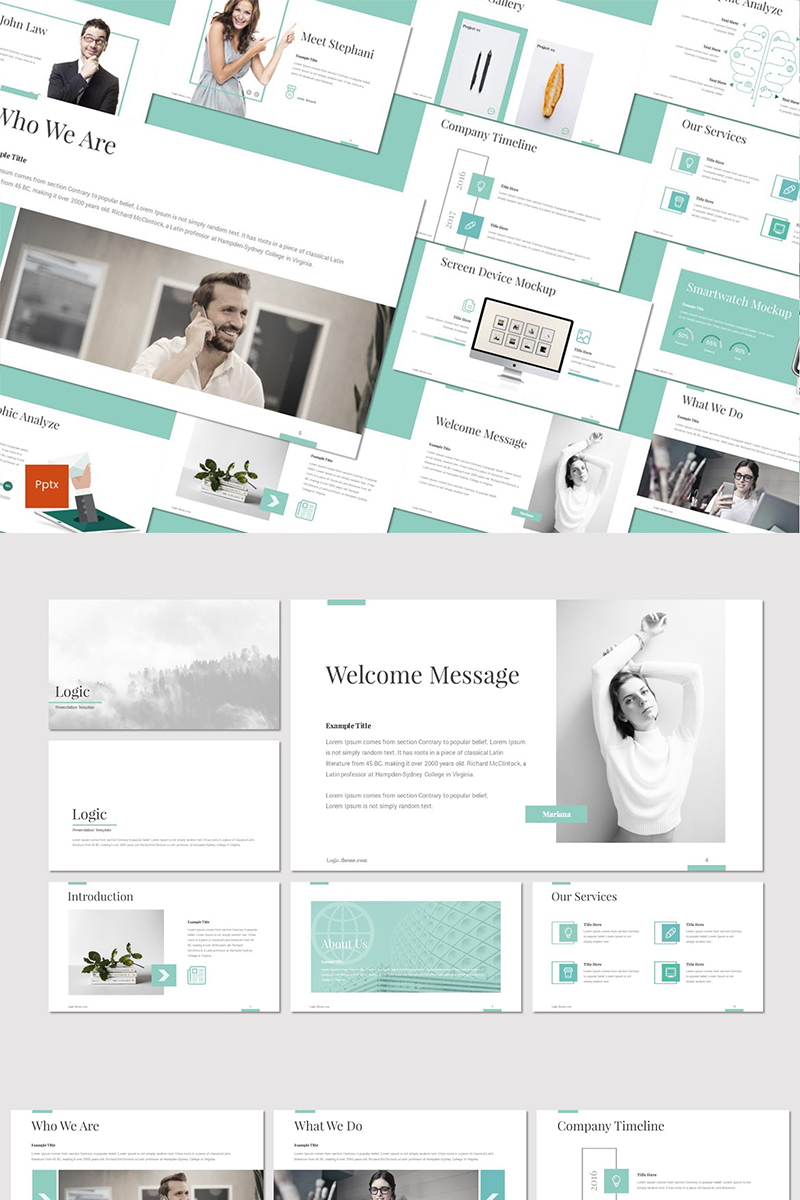 Logic PowerPoint Template