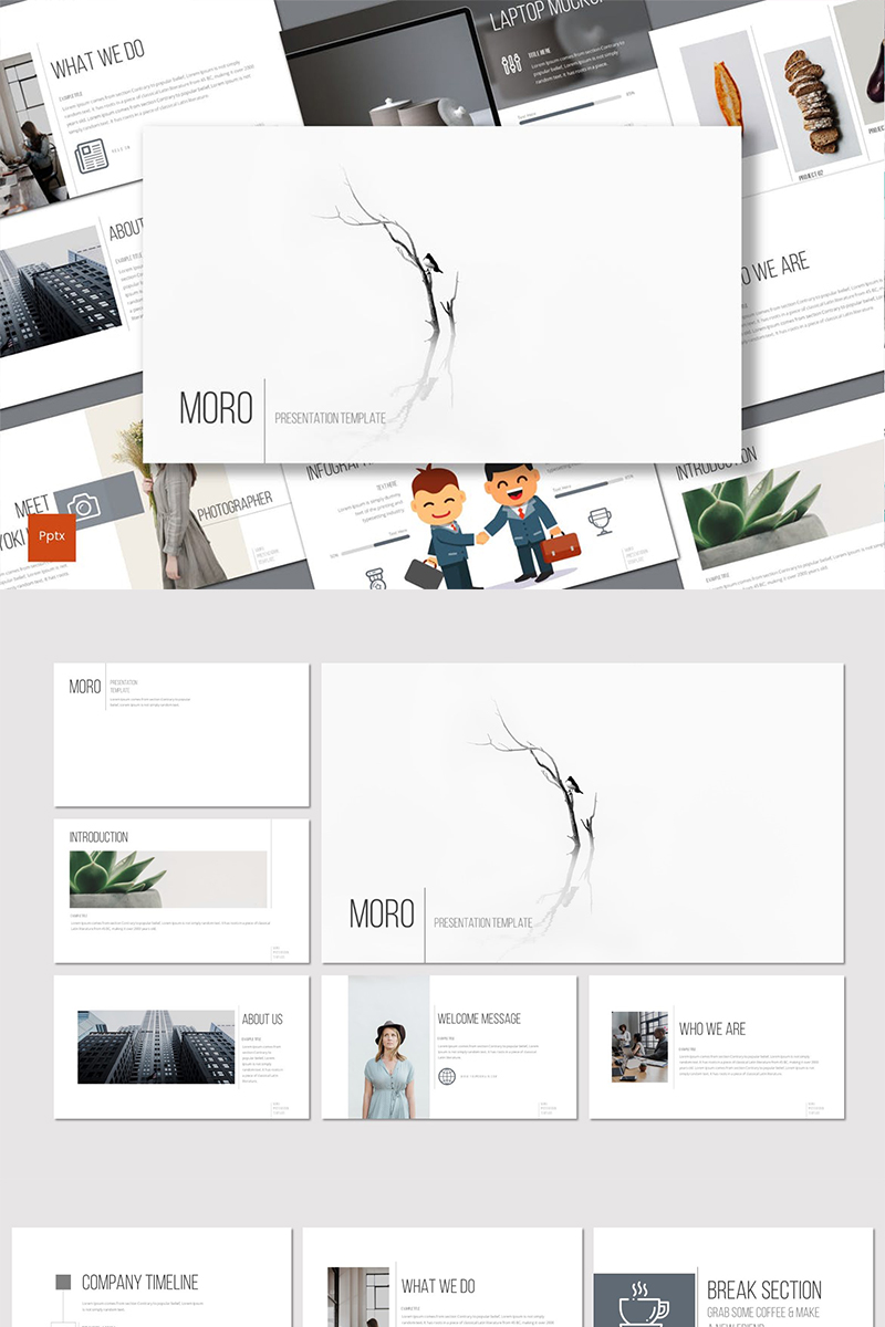 Moro PowerPoint Template