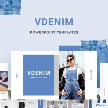 Template Modă PowerPoint #88551