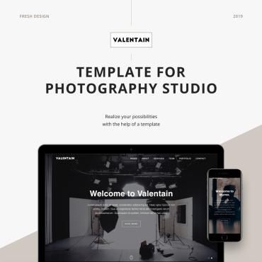 Template Artă și fotografie Landing Page #89122